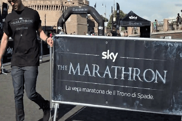 Sky - The Marathron (Roma)